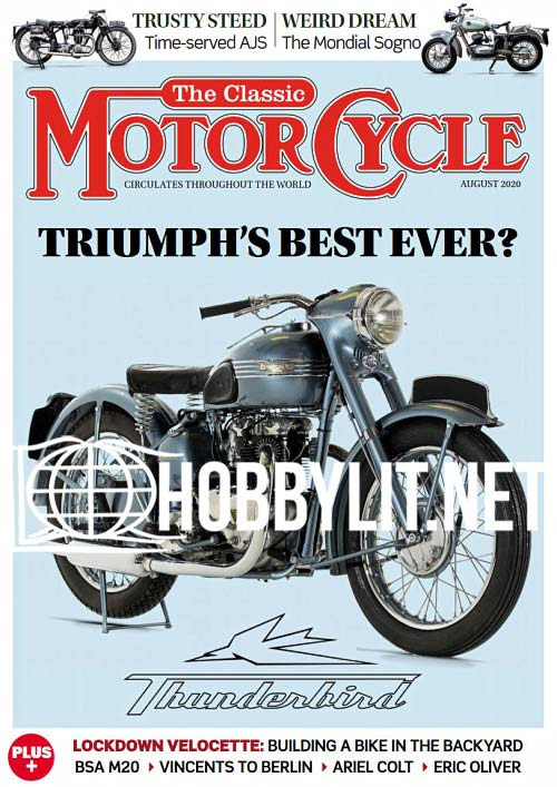 The Classic MotorCycle - August 2020