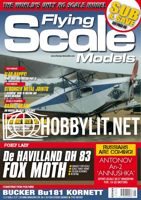 Flying Scale Models - August 2020