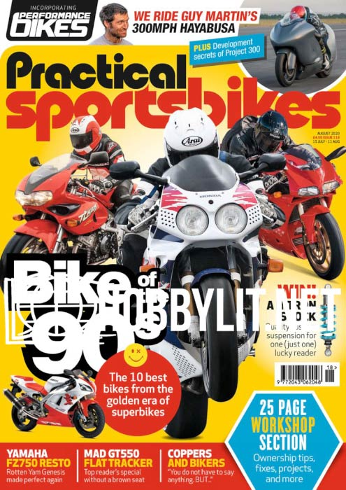 Practical Sportsbikes - August 2020