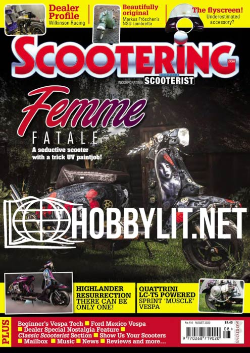 Scootering - August 2020
