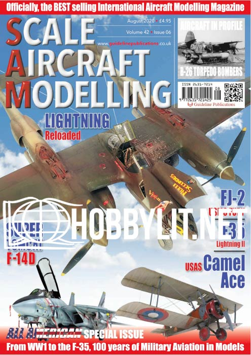 Scale Aircraft Modelling - August 2020