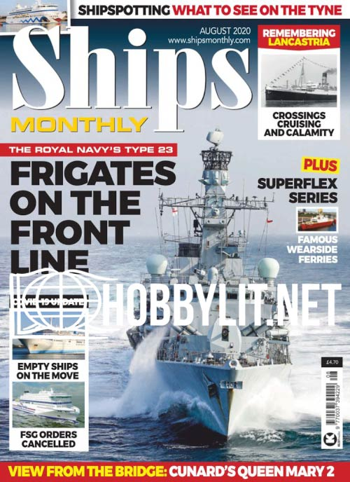 Ships Monthly – August 2020