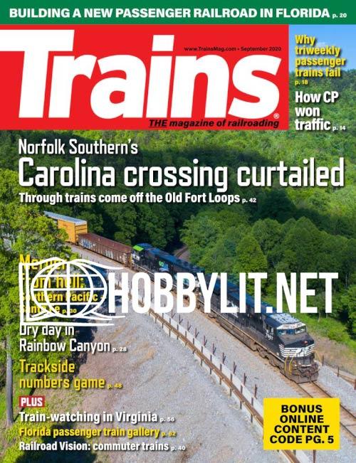 Trains - September 2020