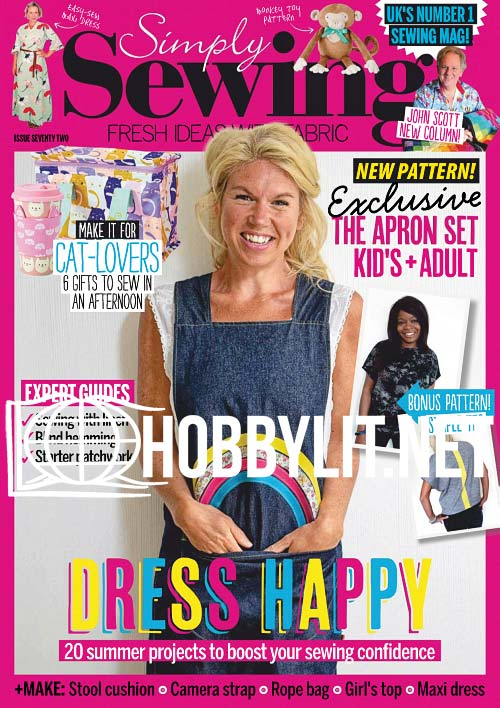 Simply Sewing Issue 72