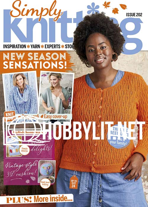 Simply Knitting Issue 202