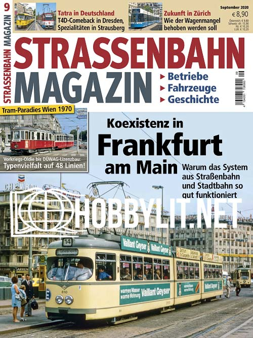 Strassenbahn Magazin - September 2020