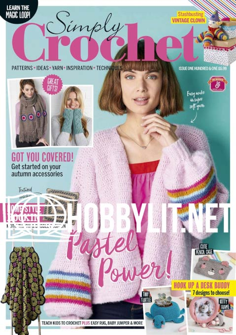 Simply Crochet Issue 101