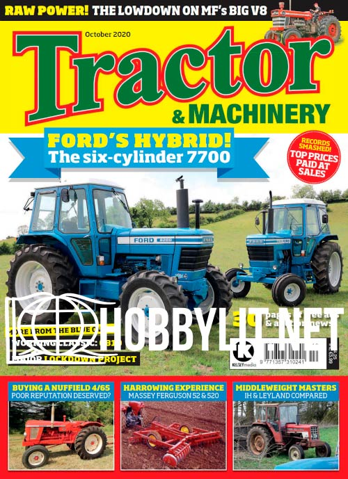 Tractor & Machinery - October 2020
