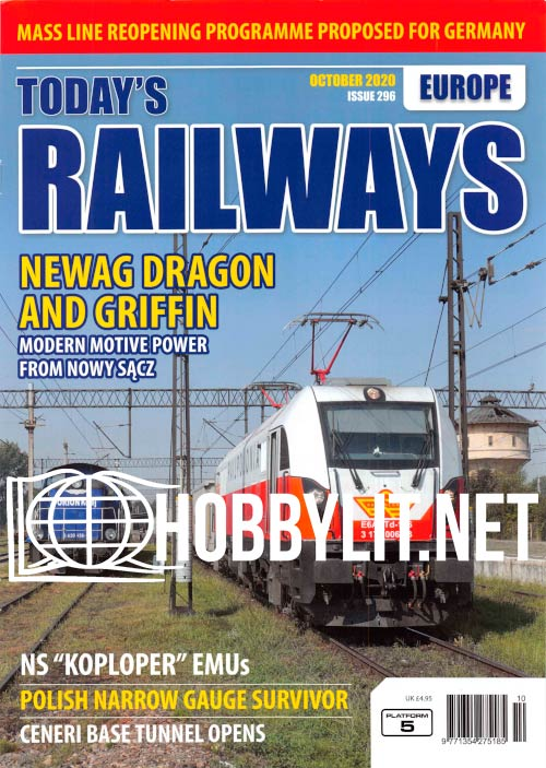 Todays Railways Europe - October 2020