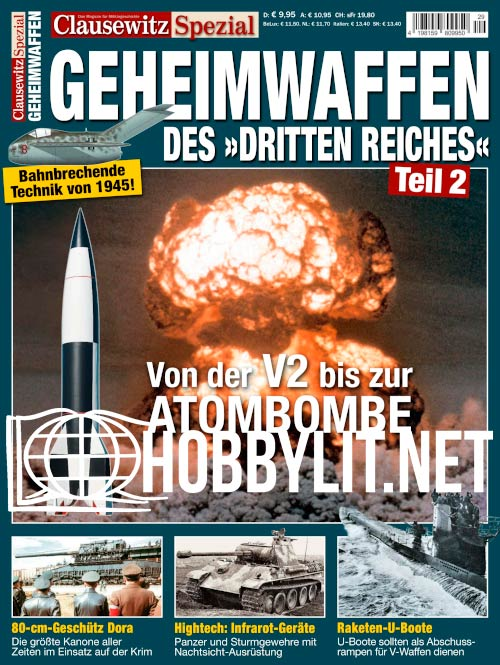 """Clausewitz Spezial - Geheimwaffen des """"Dritten Reiches"""" Teli 2"""