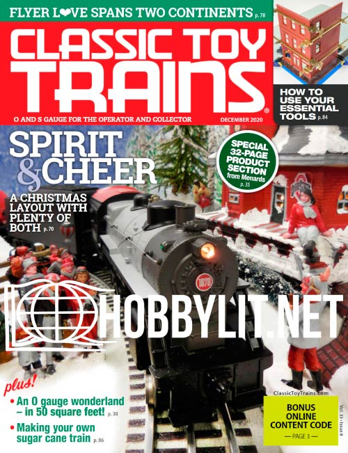 Classic Toy Trains - December 2020