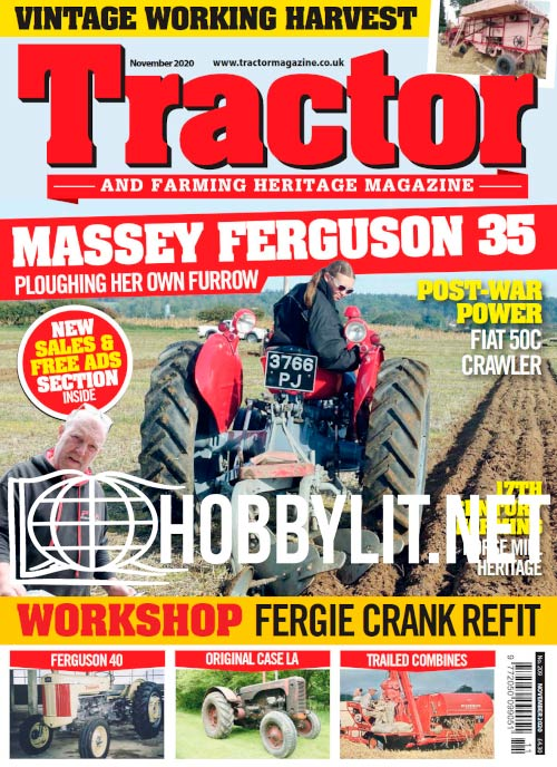 Tractor and Farming Heritage Magazine - November 2020