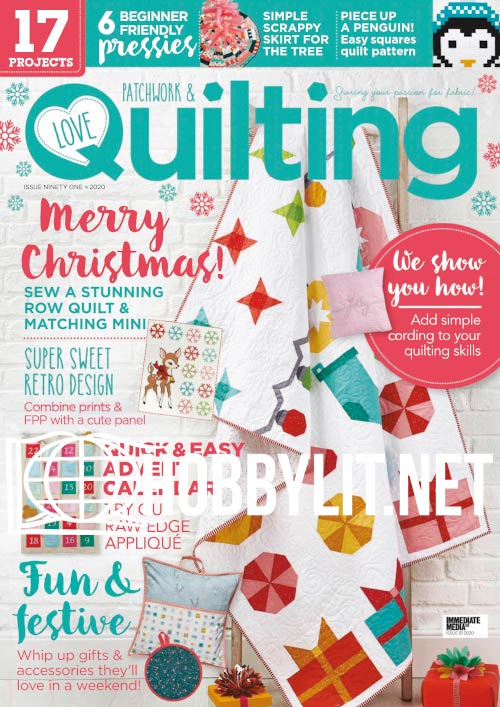 Love Patchwork & Quilting Issue 91