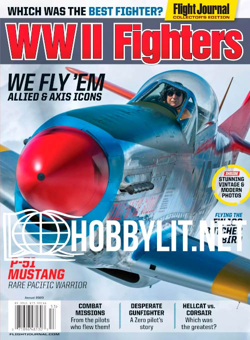 Flight Journal Collector's Edition - WW II Fighters