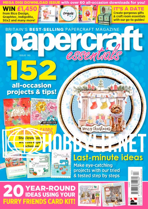 Papercraft Essentials - December 2020
