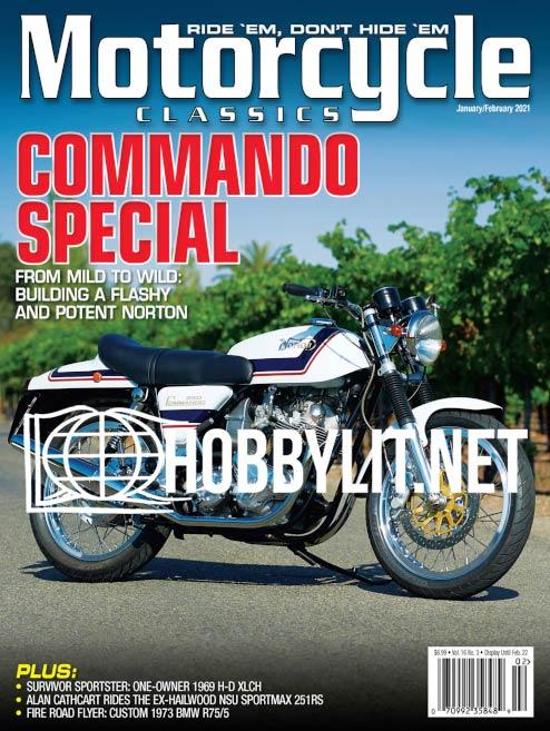 Motorcycle Classics - January/February 2021