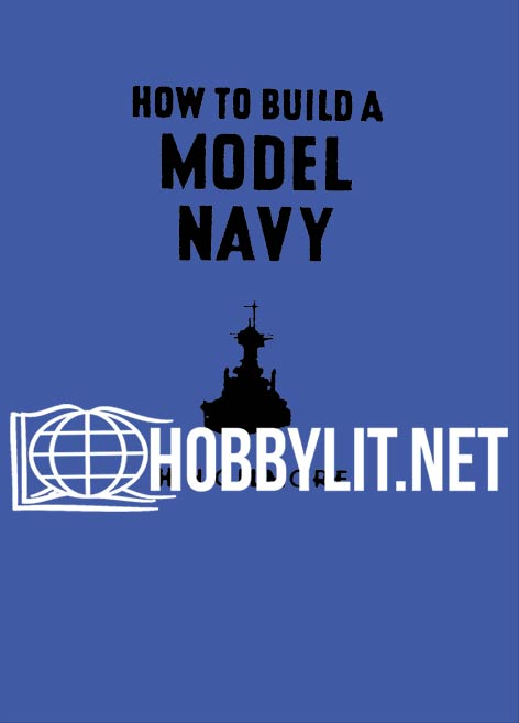 How to Build Model Navy ( Rare book 1941 )