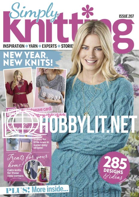 Simply Knitting Issue 207