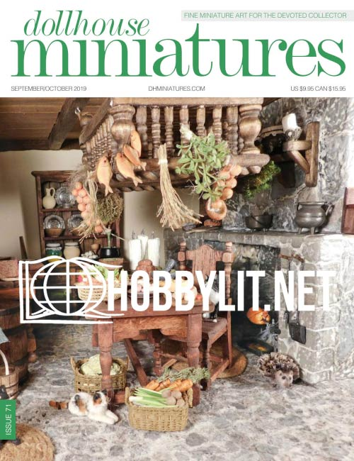 Dollhouse Miniatures 71 - September/October 2019