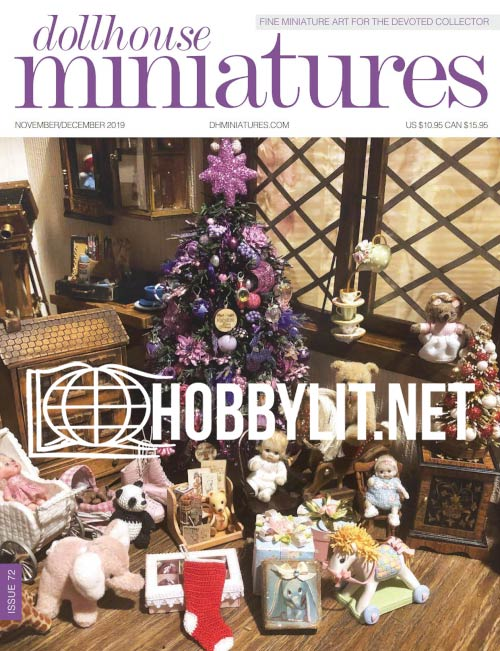 Dollhouse Miniatures 72 - November/December 2019