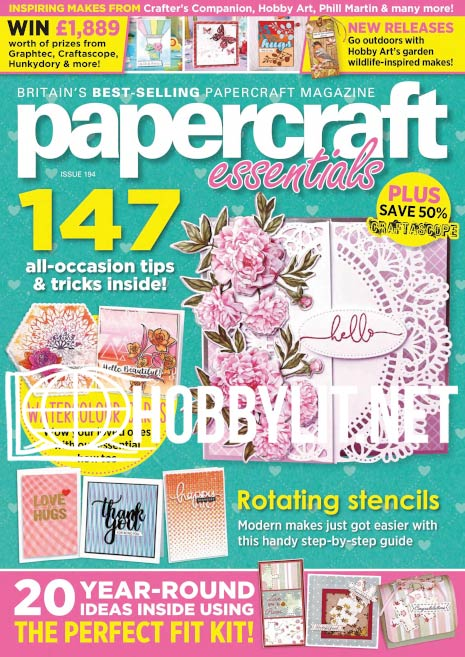 Papercraft Essentials Issue 194