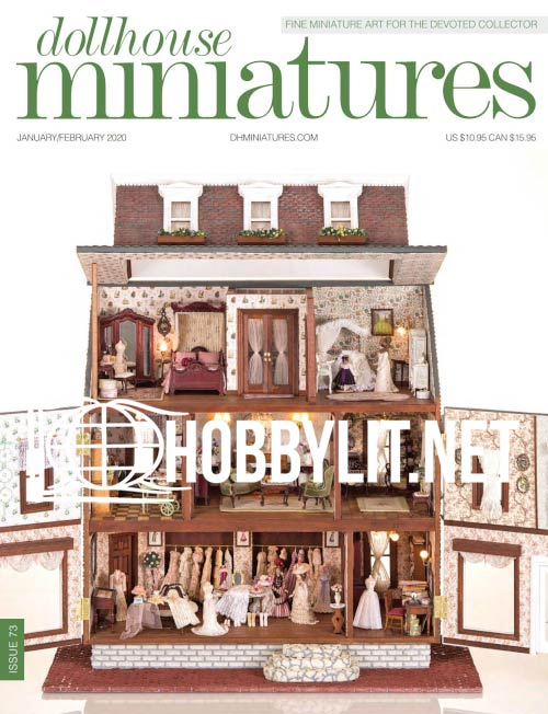 Dollhouse Miniatures 73 - January/February 2020