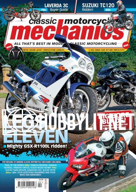 Classic Motorcycle Mechanics - February 2021