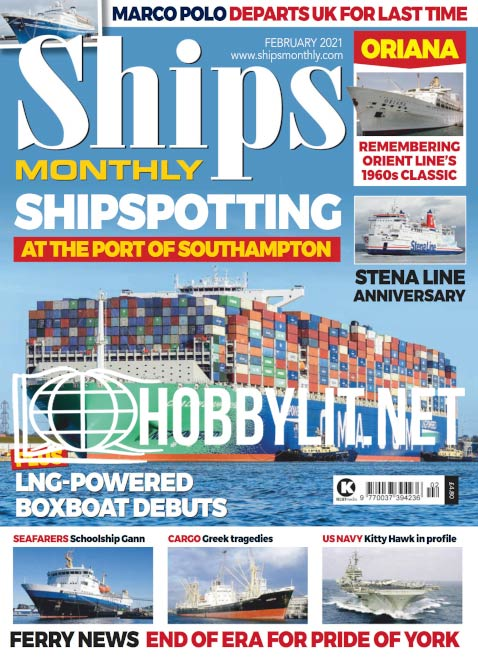 Ships Monthly – February 2021