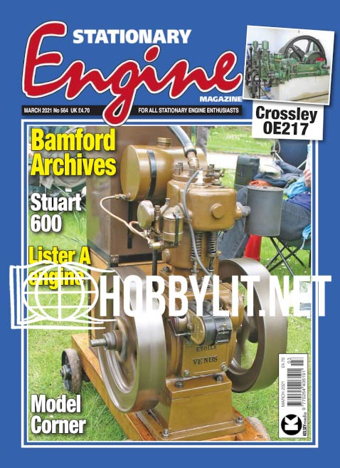 Stationary Engine - March 2021