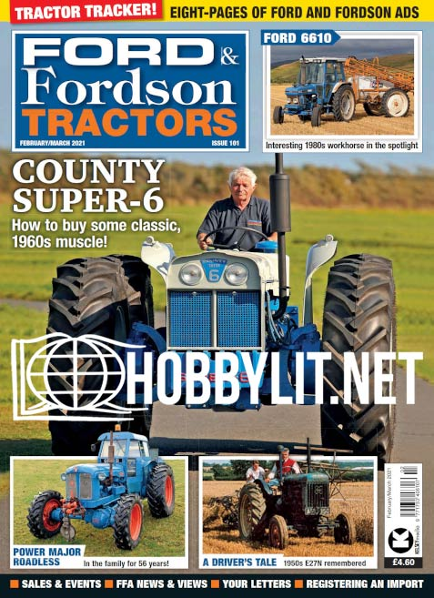 Ford & Fordson Tractors - February/March 2021