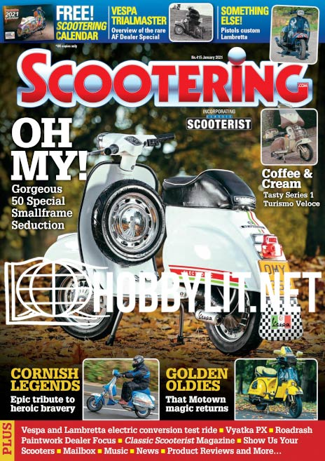 Scootering - January 2021