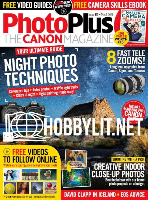 Photo Plus.The Canon Magazine - March 2021