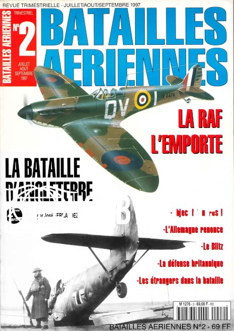 Batailles Aeriennes Issue 02