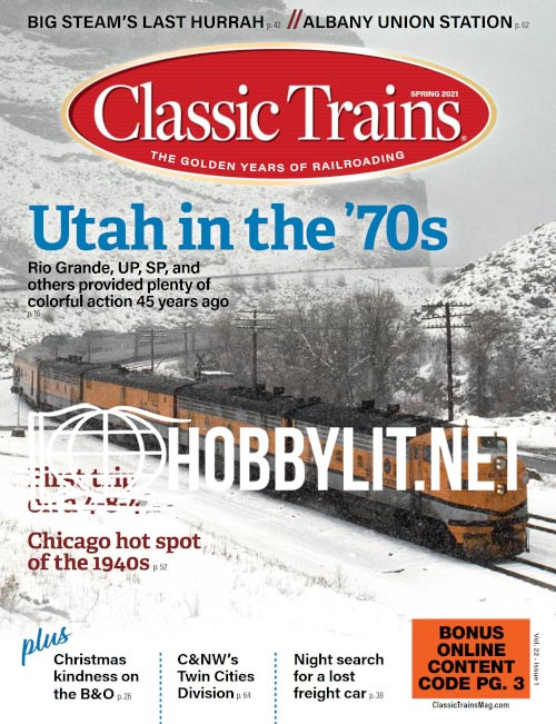 Classic Trains - Spring 2021