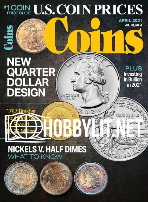 Coins – April 2021