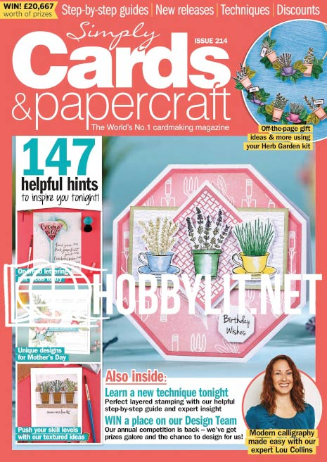 Simply Cards & Papercraft Issue 214