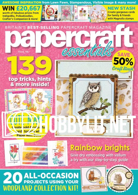 Papercraft Essentials Issue 196