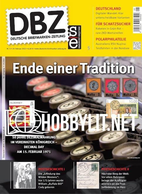 Deutsche Briefmarken-Zeitung – 19 Februar 2021