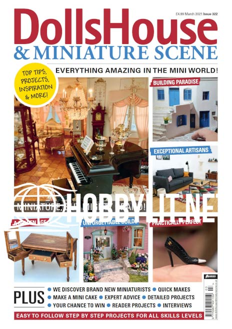Dolls House & Miniature Scene - March 2021
