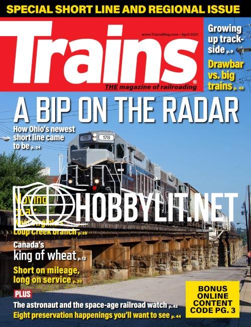 Trains - April 2021