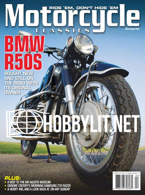 Motorcycle Classics - March/April 2021