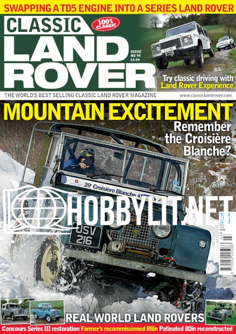 Classic Land Rover - March 2021