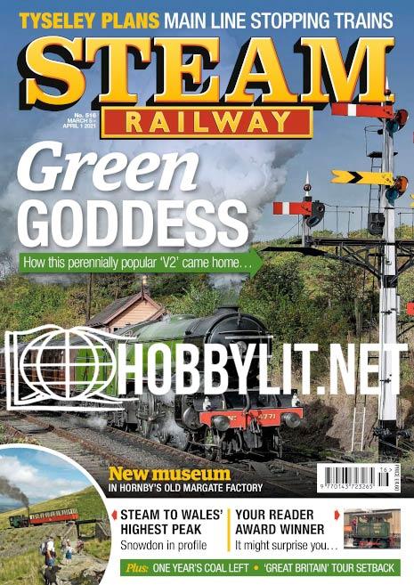 Steam Railway – 05 March 2021