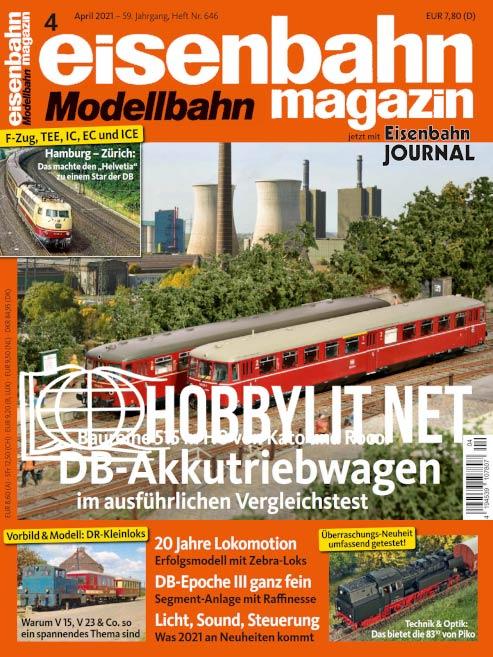 Eisenbahn Magazin – April 2021