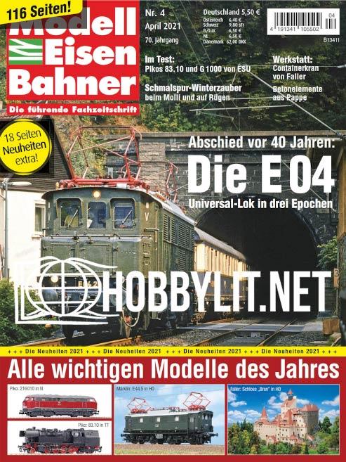 ModellEisenBahner - April 2021
