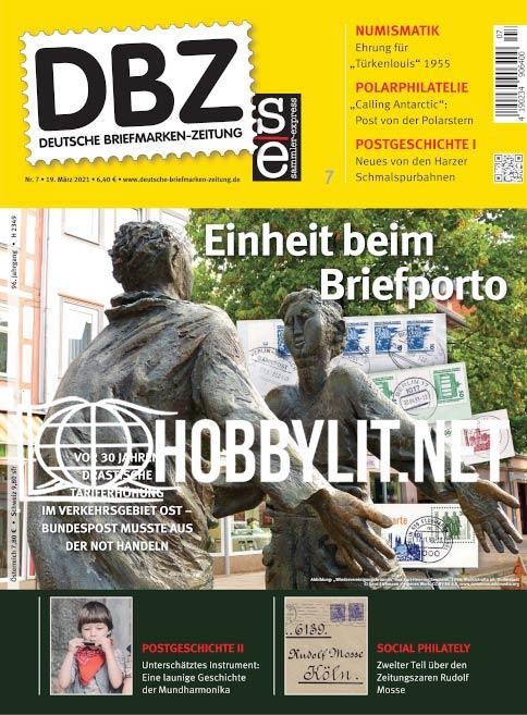 Deutsche Briefmarken-Zeitung – 19 März 2021