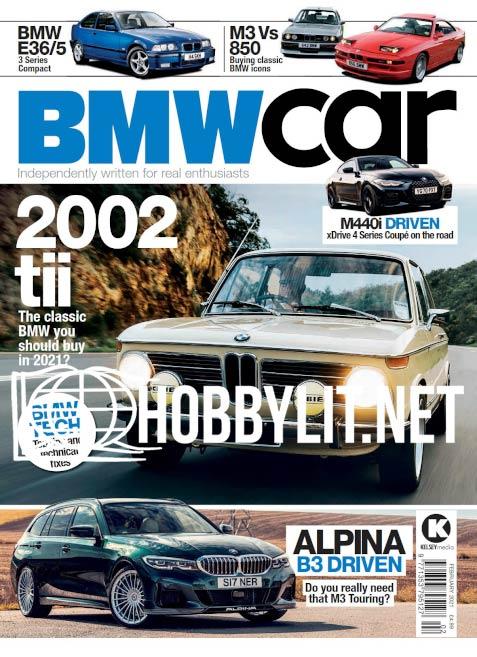 BMW Car - February 2021