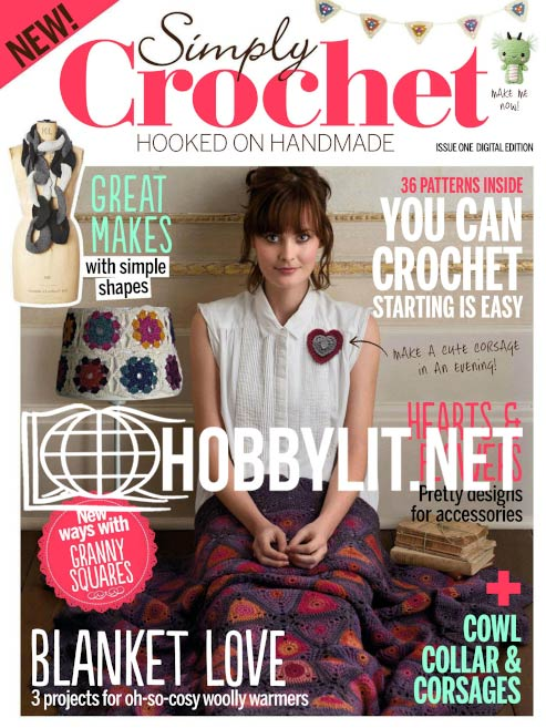 Simply Crochet Issue 001
