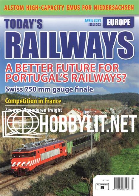 Today's Railways Europe - April 2021