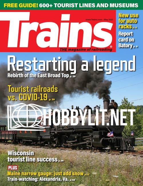 Trains - May 2021